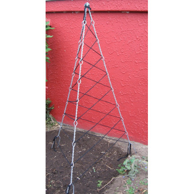 TRIPOD Open TeePee -1950mm -Black.
