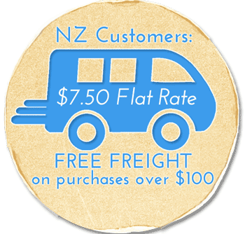 free delivery in New Zealand for purchases over $50